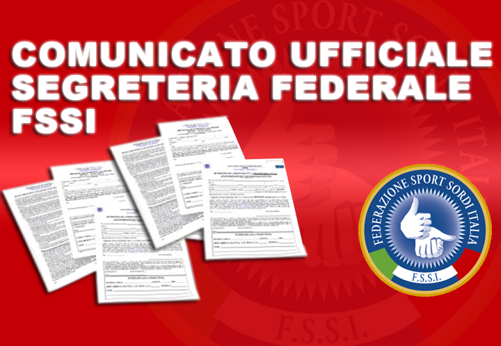 Comunicato Ufficiale n. 45/2013