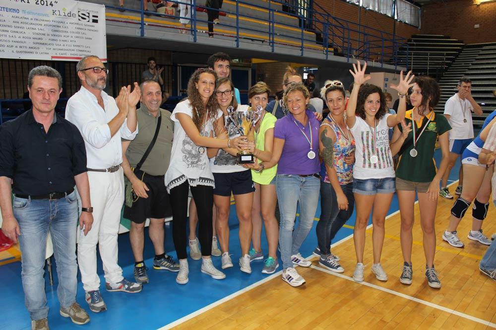 Campionato Italiano FSSi di Pallavolo M/F svoltosi a Latina il 7-8 Giugno 2014