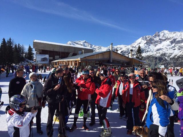 7 Marzo 2015. Sport Invernali FSSI a Chiesa Valmalenco