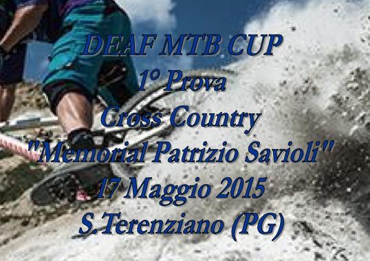 17 Maggio, S. Terenziano (PG). Deaf Mtb Cup 1° prova Cross Country