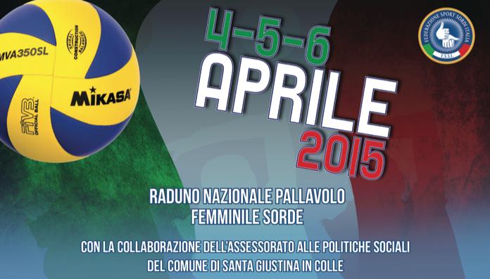 4-6 Aprile, Santa Giustina in Colle (PD). Raduno Nazionale Pallavolo Femminile
