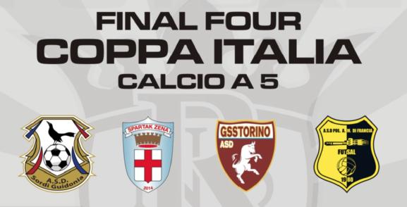 16-17 Gennaio, Sedriano (MI). Final Four Coppa Italia di Calcio A5