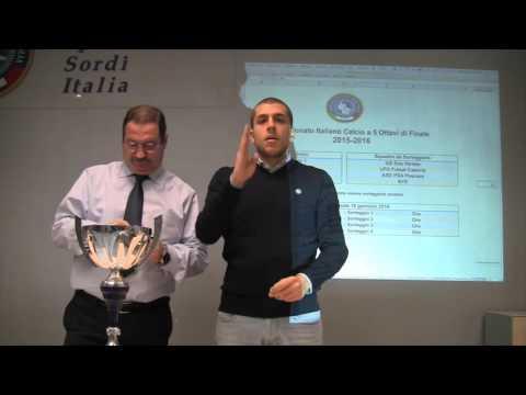Sorteggio – Ottavi di Finale Calcio A5/M