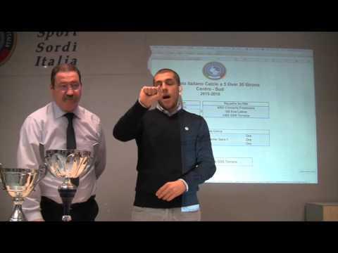 "Sorteggio – Calcio A5/M ""Under21"""