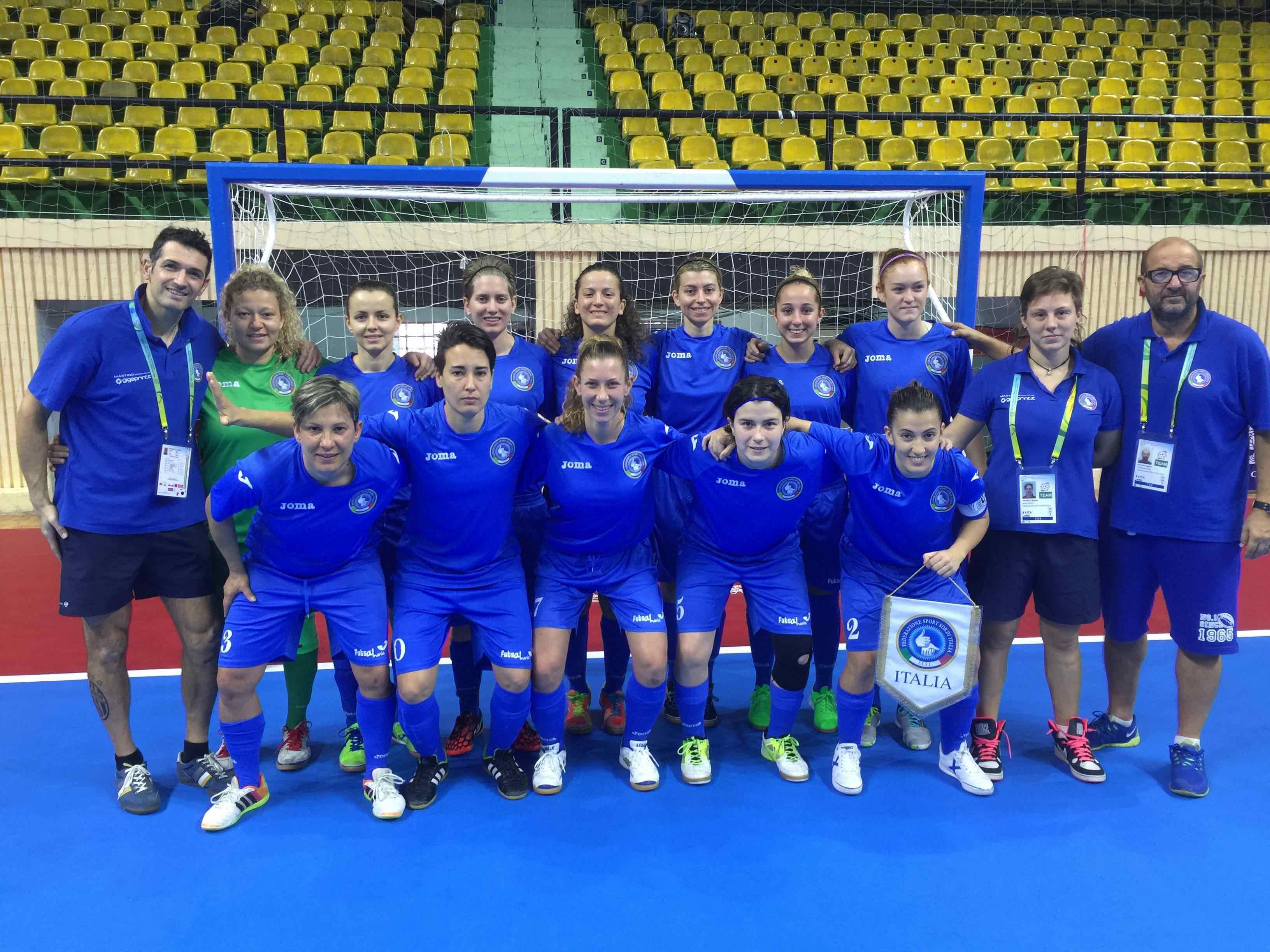 World Deaf Futsal 2015/F – Italia vs Germania 0-4