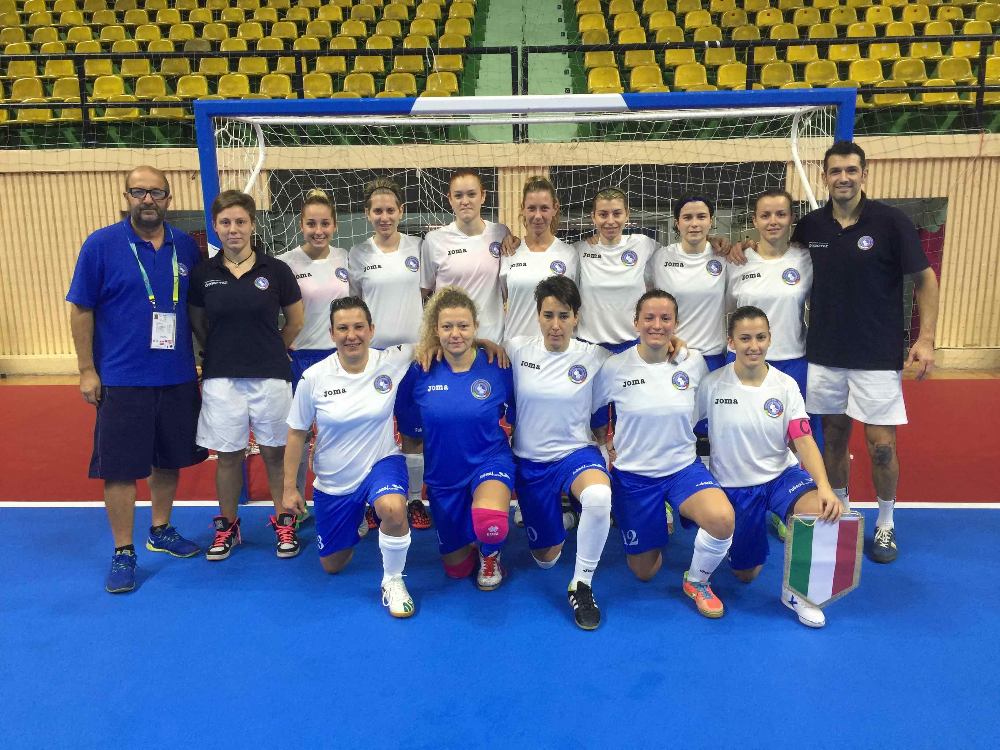 World Deaf Futsal 2015/F – Italia vs Brasile 0-4