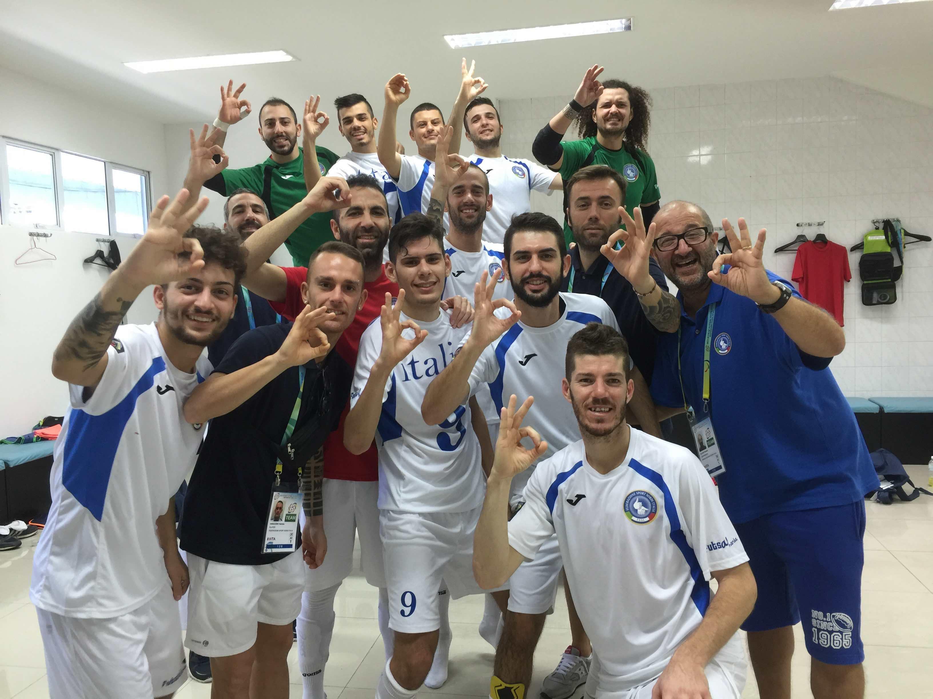 World Deaf Futsal 2015/M – Italia vs Svizzera 4-0