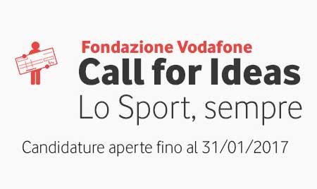 Bando Fondazione Vodafone per la promozione dello Sport Paralimpico