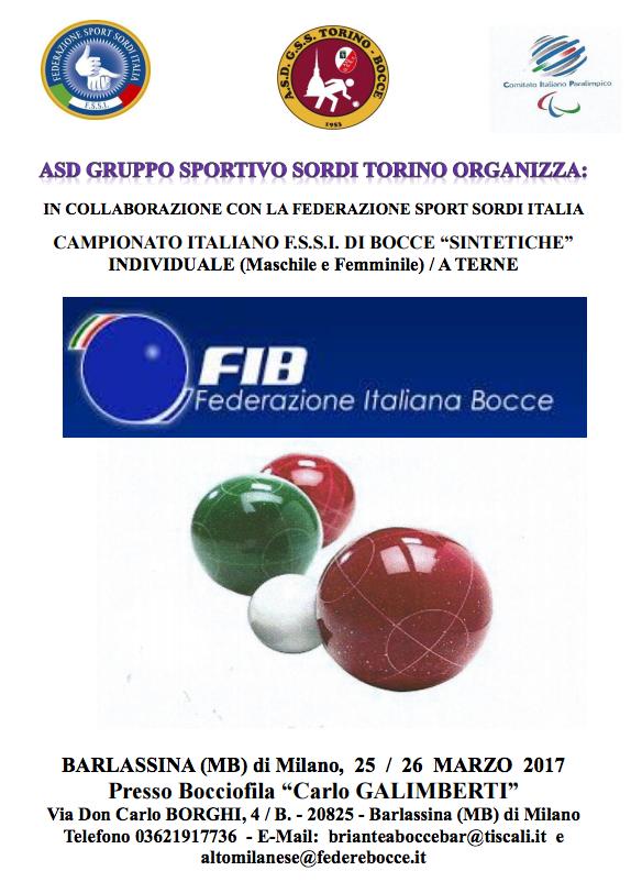"""Evento Navigation. « Bowling Doppio M F · Campionato FSSI di Calcio A5  """"Over40"""" ». La F.S.S.I. (Federazione Sport Sordi Italia) ... 095d8c25772b9"""