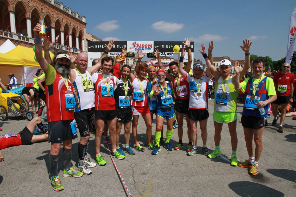 Risultati e foto del Campionato FSSI di Maratonina svoltosi a Padova