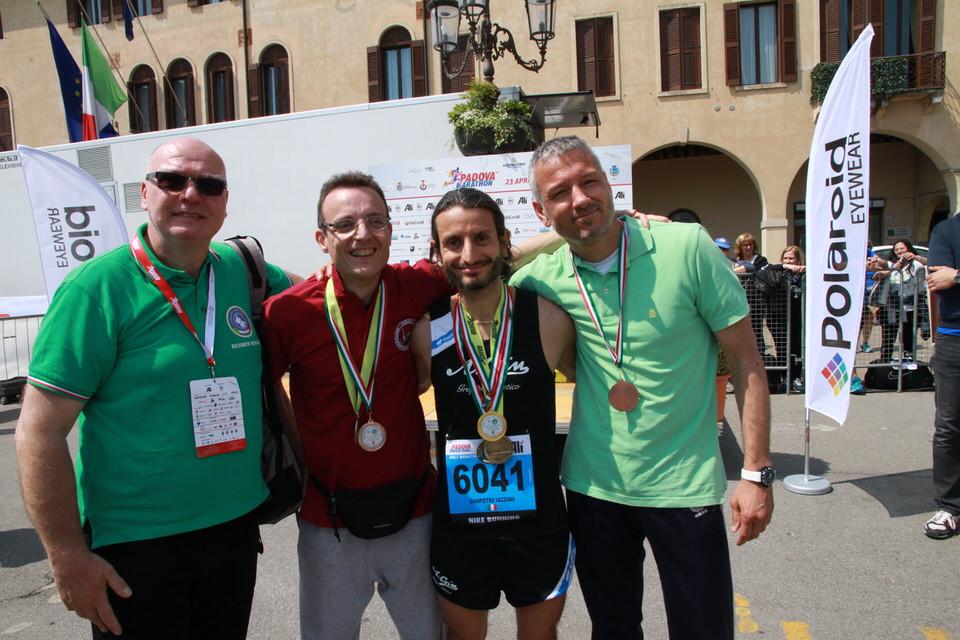 Risultati e foto del Campionato Regionale FSSI di Maratonina svoltosi a Padova