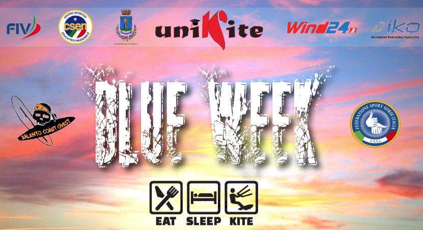 Blue Week, Kite Camp in Salento