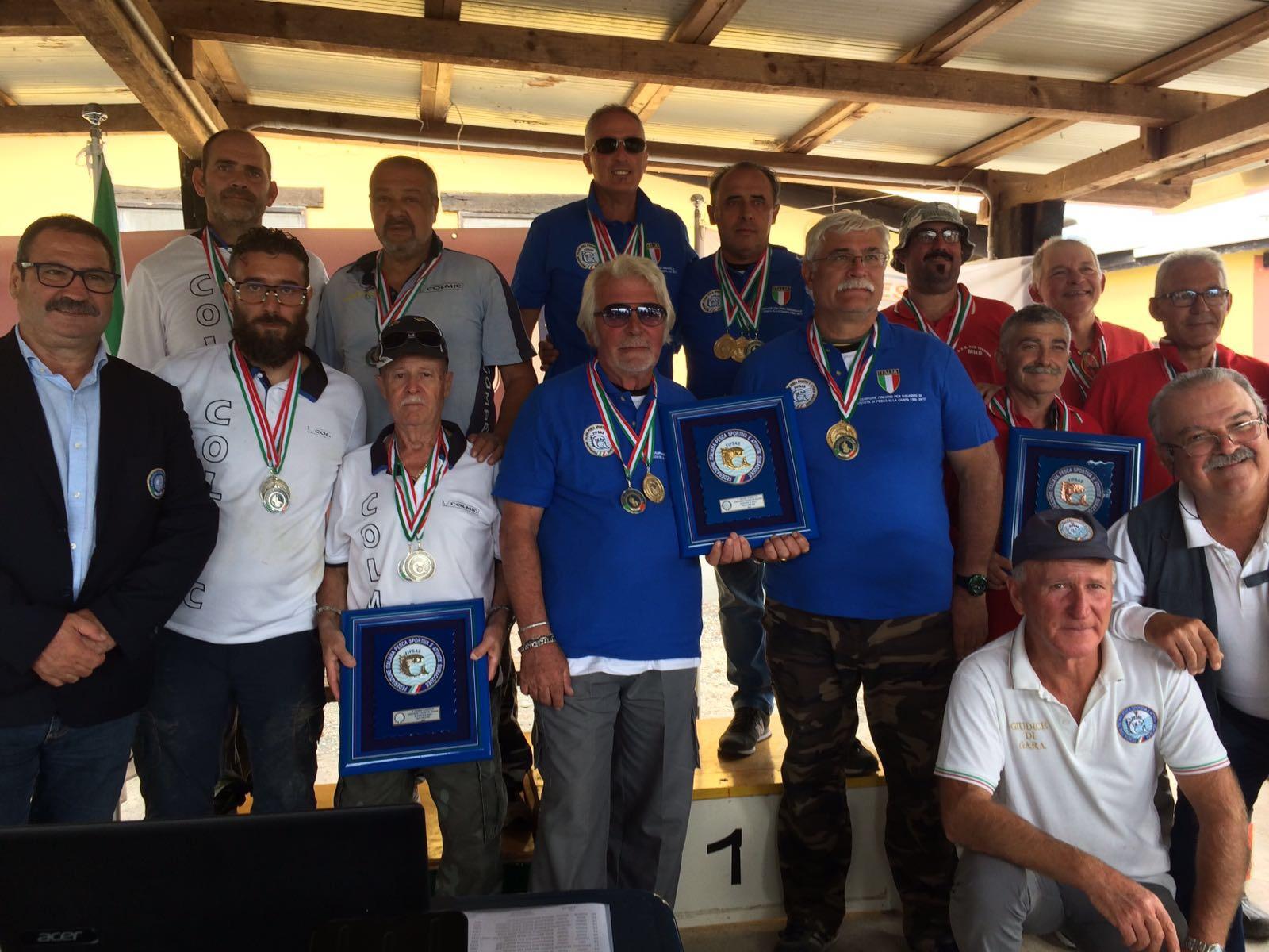 Relazione, risultati e foto del Campionato FSSI di Pesca Sportiva svoltosi a San Nazzaro Sesia (NO)