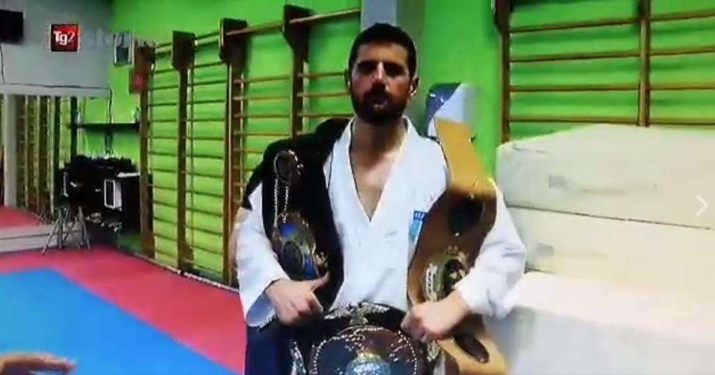 """Il programma """"Storie"""" Rai 2 intervista l' atleta azzurro Improta Giovanni"""