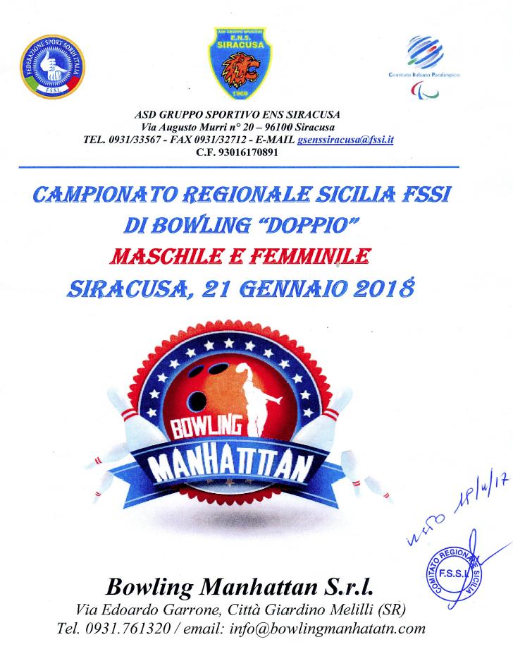 Dal 21 Gennaio 2018 si svolgerà presso il centro MANHATTAN di Melilli (SR) 0753e295e7ed5
