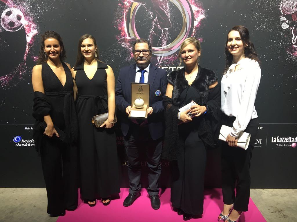 La Gazzetta Sports Awards premia la Nazionale Italiana di Pallavolo/F