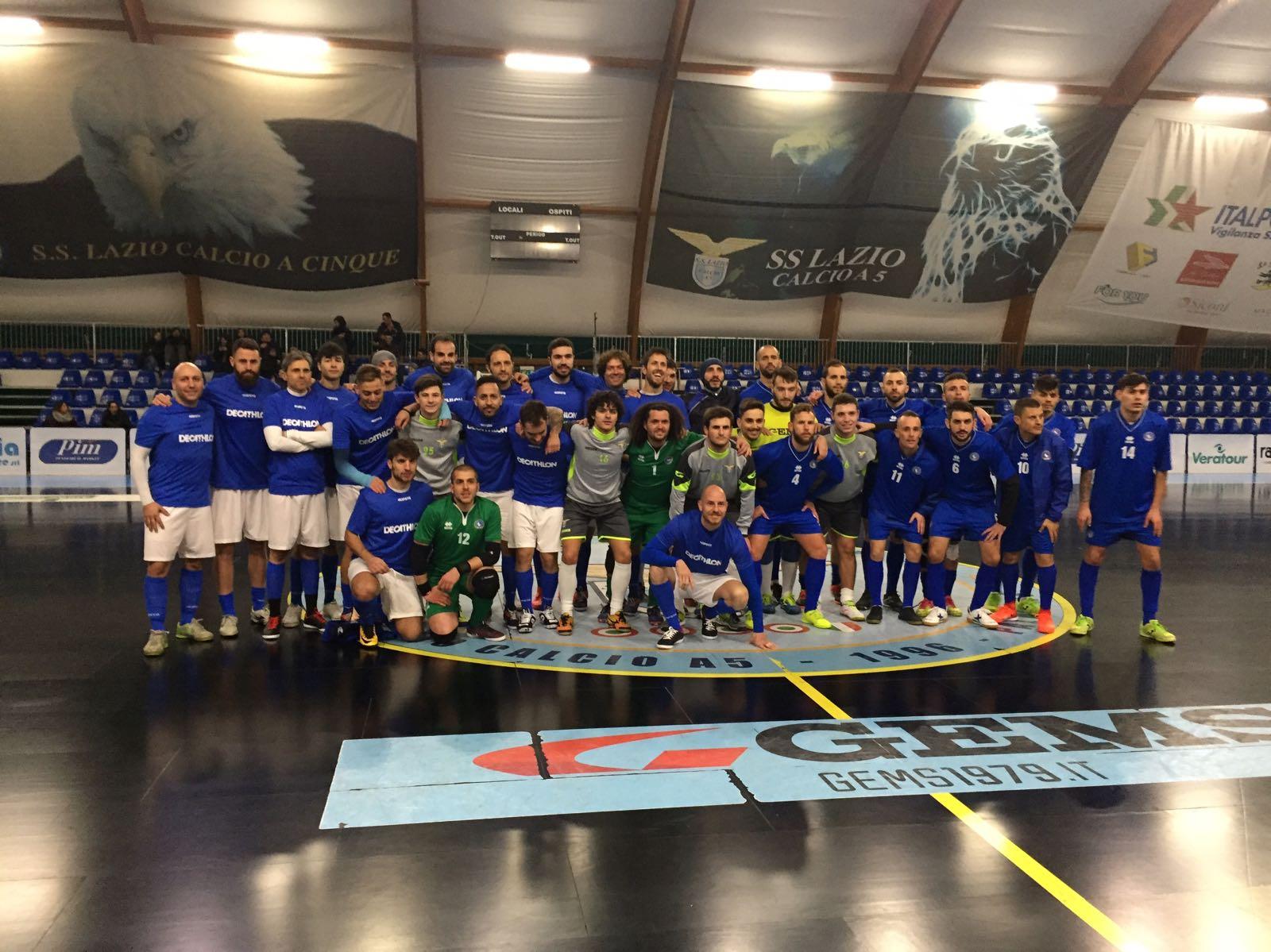 Triangolare Calcio A5 con la Nazionale FSSI, Lazio C5 U19 e rappresentativa della Decathlon