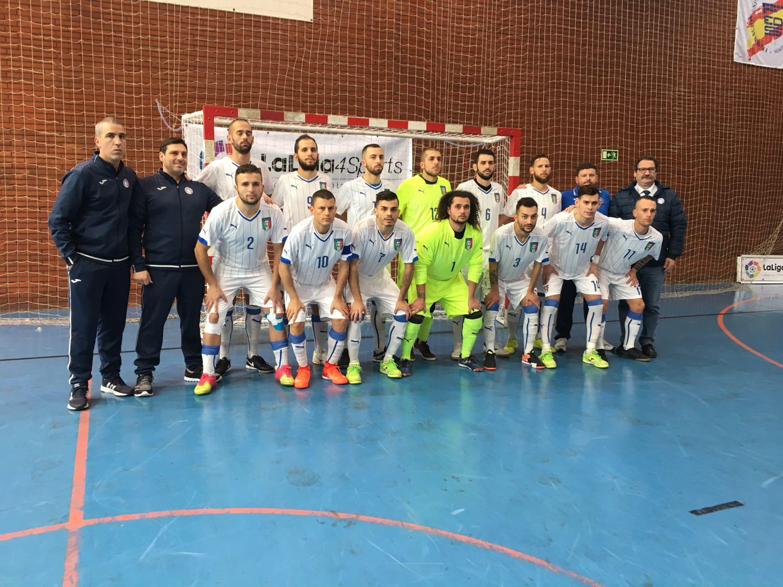Qualificazione Europei Futsal – Madrid 7-9 Dicembre 2017