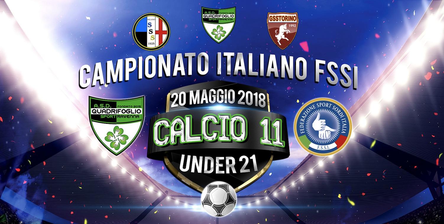 """20 Maggio, Martorano (FC). Campionato FSSI di Calcio A11 """"Under21"""""""