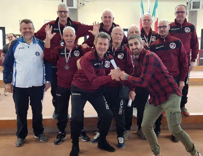 Campionato FSSI di Bocce Sintetiche svoltosi a Brescia nei giorni 24-25 Marzo 2018