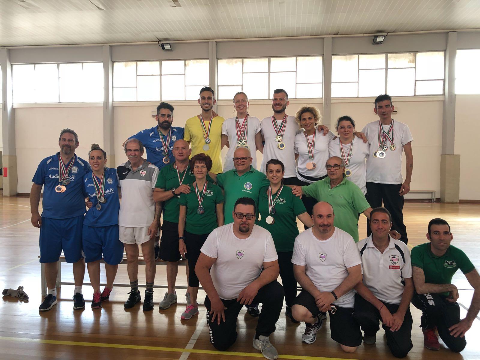 Risultati e foto del Campionato FSSI di Badminton M/F svoltosi il 26 Maggio 2018