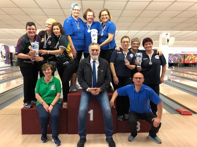 Campionato FSSI di Bowling svoltosi a Casalecchio di Reno (BO) nei giorno 5-6 Maggio 2018