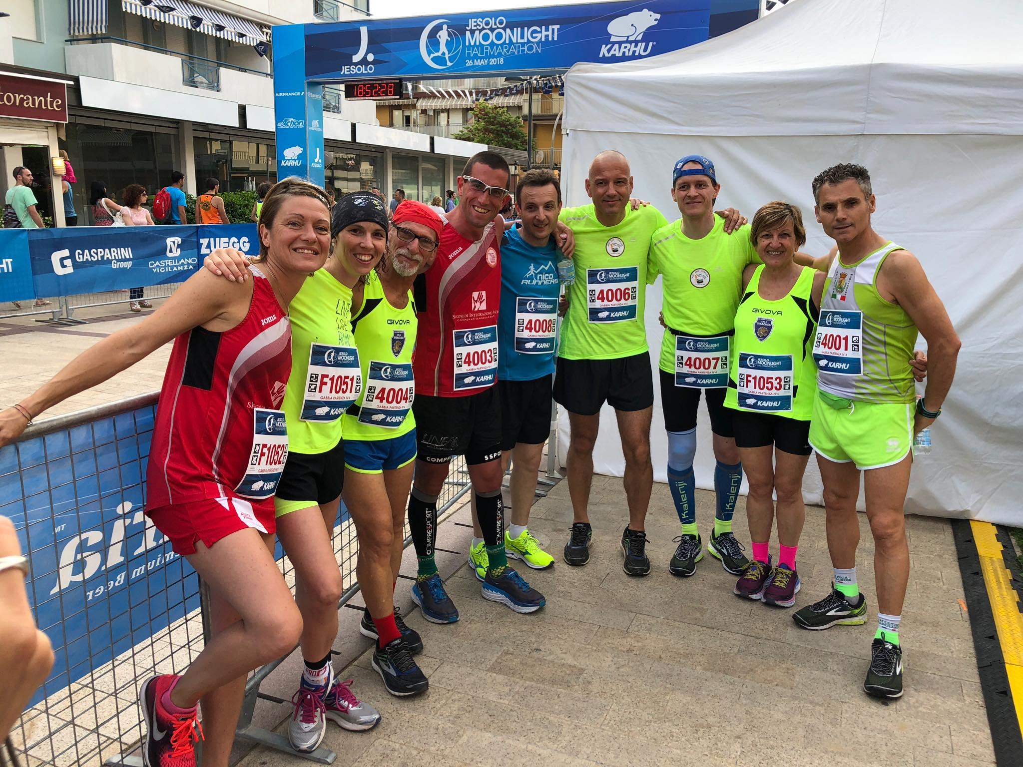 Risultati e foto del Campionato FSSI di Mezza Maratona Km 21,097 svoltosi il 26 Maggio 2018
