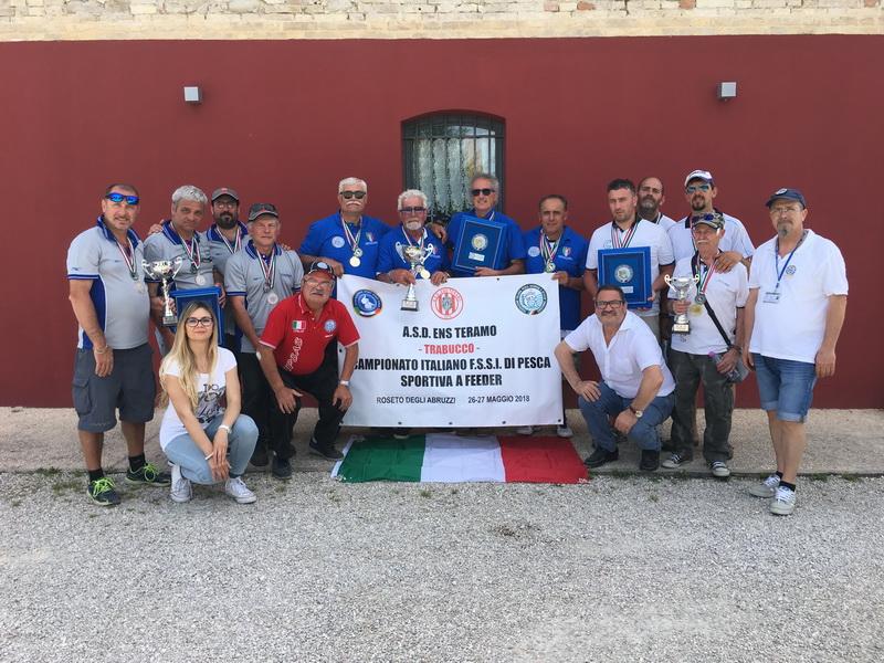 Campionato FSSI di Pesca Sportiva Feeder svoltosi il 26-27 Maggio 2018 a Roseto degli Abruzzi