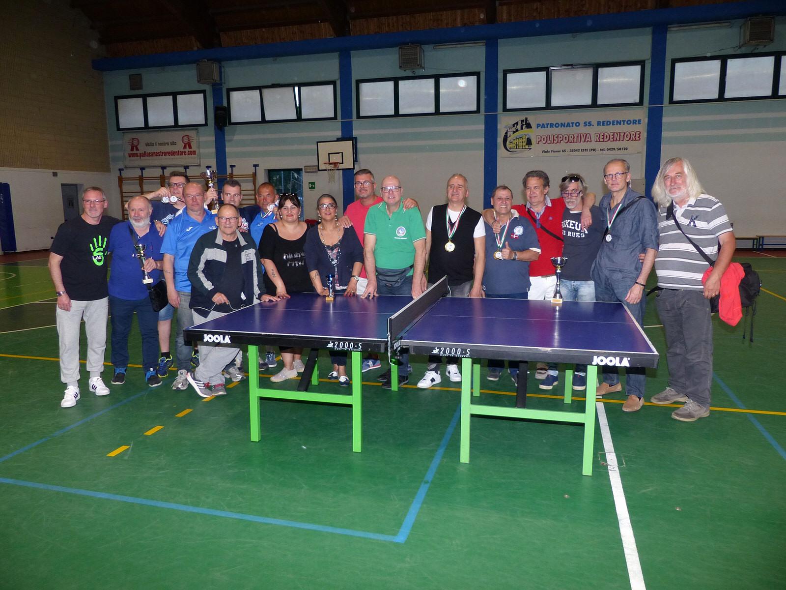 Risultati e foto del Campionato Regionale FSSI di Tennis Tavolo M/F svoltosi il 28 Aprile