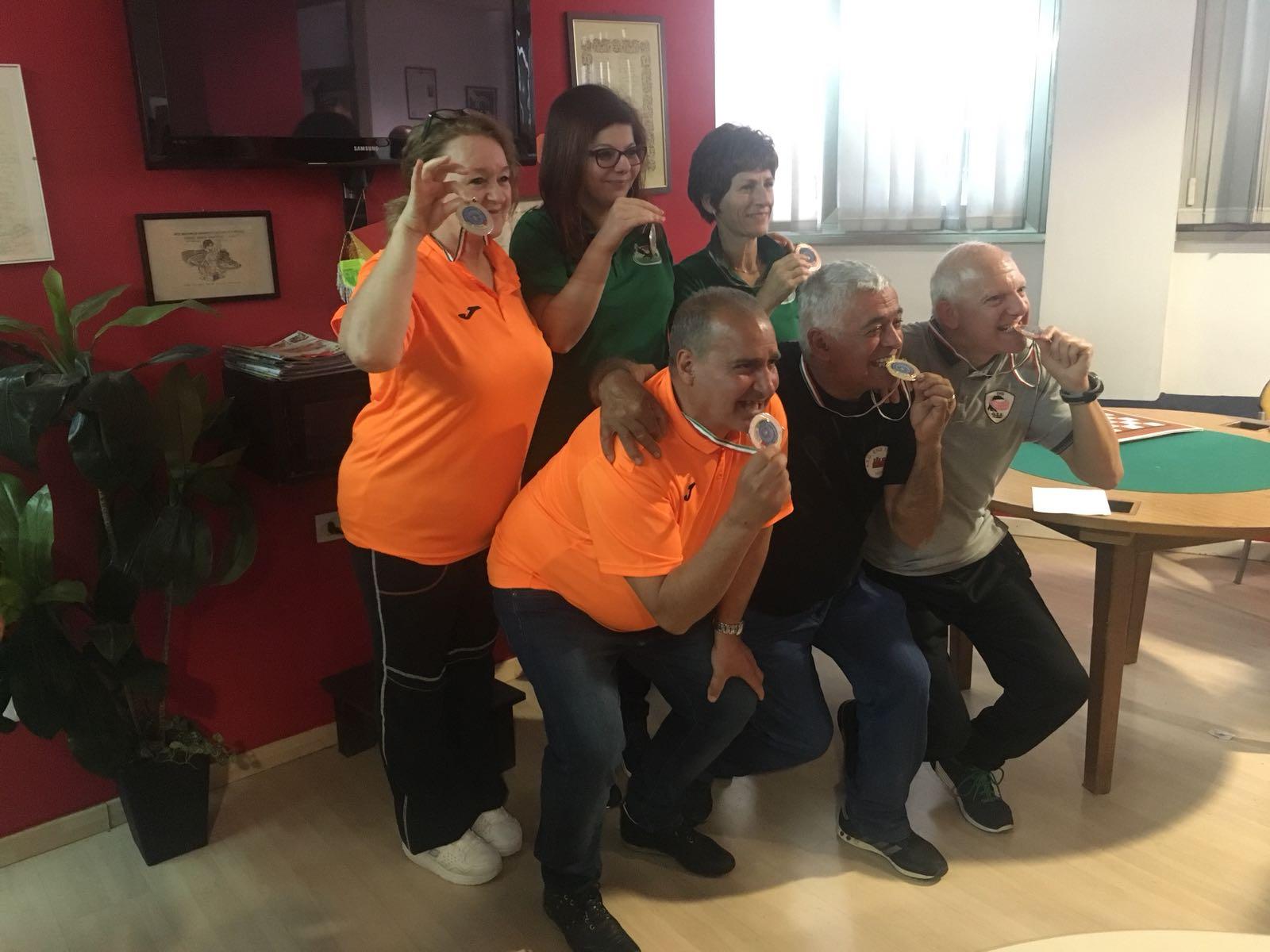 Risultati e foto del Campionato Regionale FSSI di Dama M/F svoltosi a Partinico (PA)