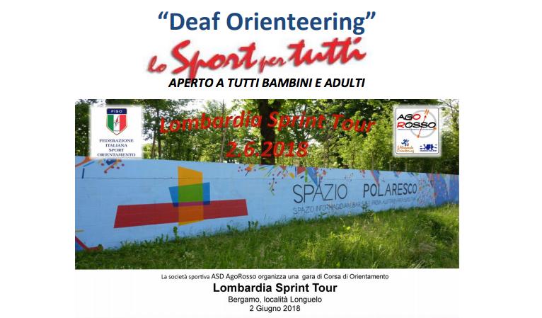 """2 Giugno, Bergamo (BG). Deaf Orienteering """"Lo Sport per tutti"""""""