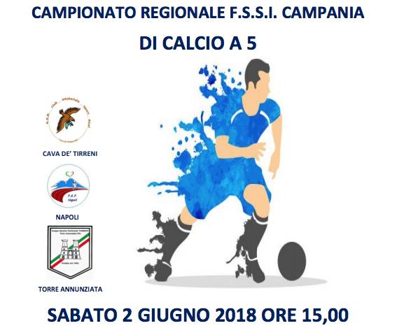2 Giugno, Monticello Cava de' Tirreni (SA). Campionato FSSI Regionale di Calcio A5