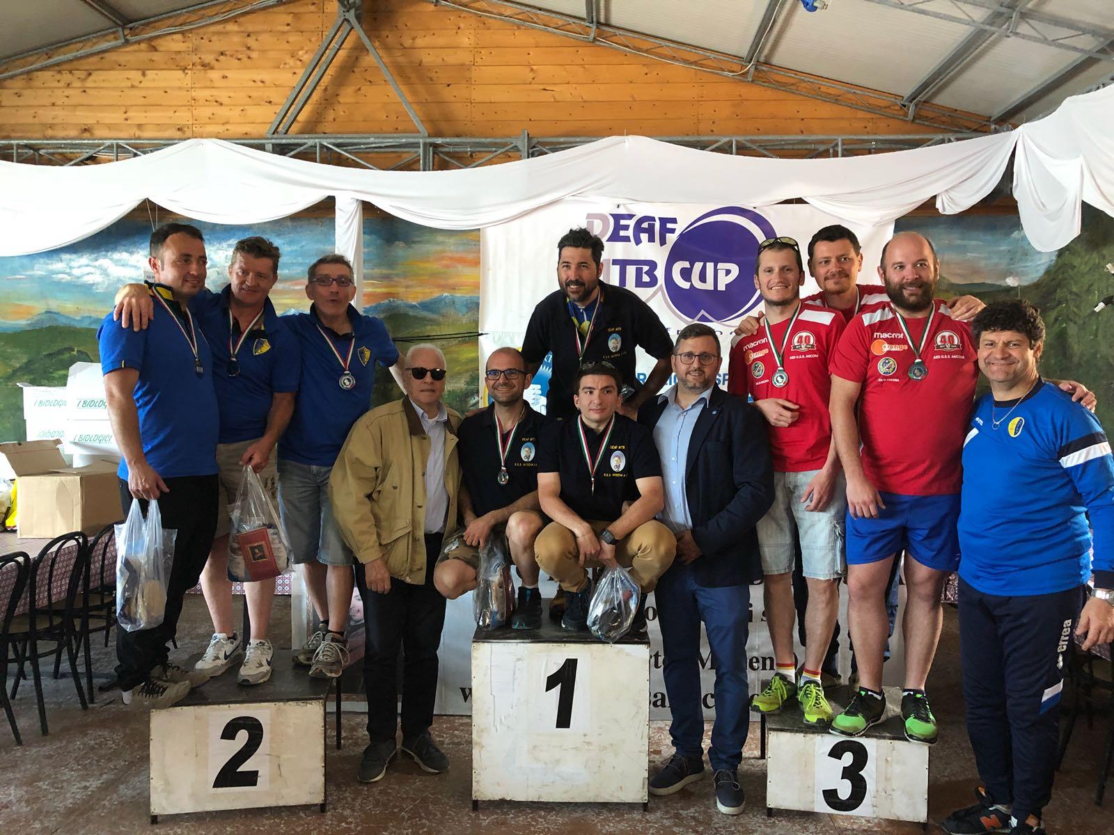 Campionato FSSI di MTB svoltosi a Toano (RE) il giorno 28 Aprile 2018