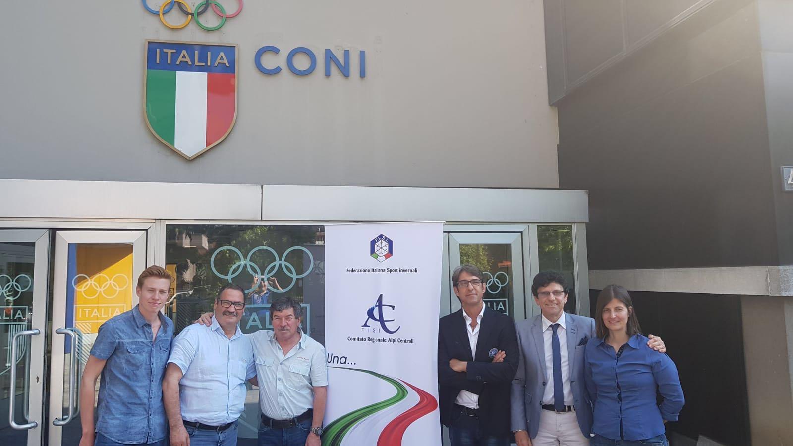 La Rappresentanza della FSSI incontra il Comitato Regionale FISI Alpi Centrali
