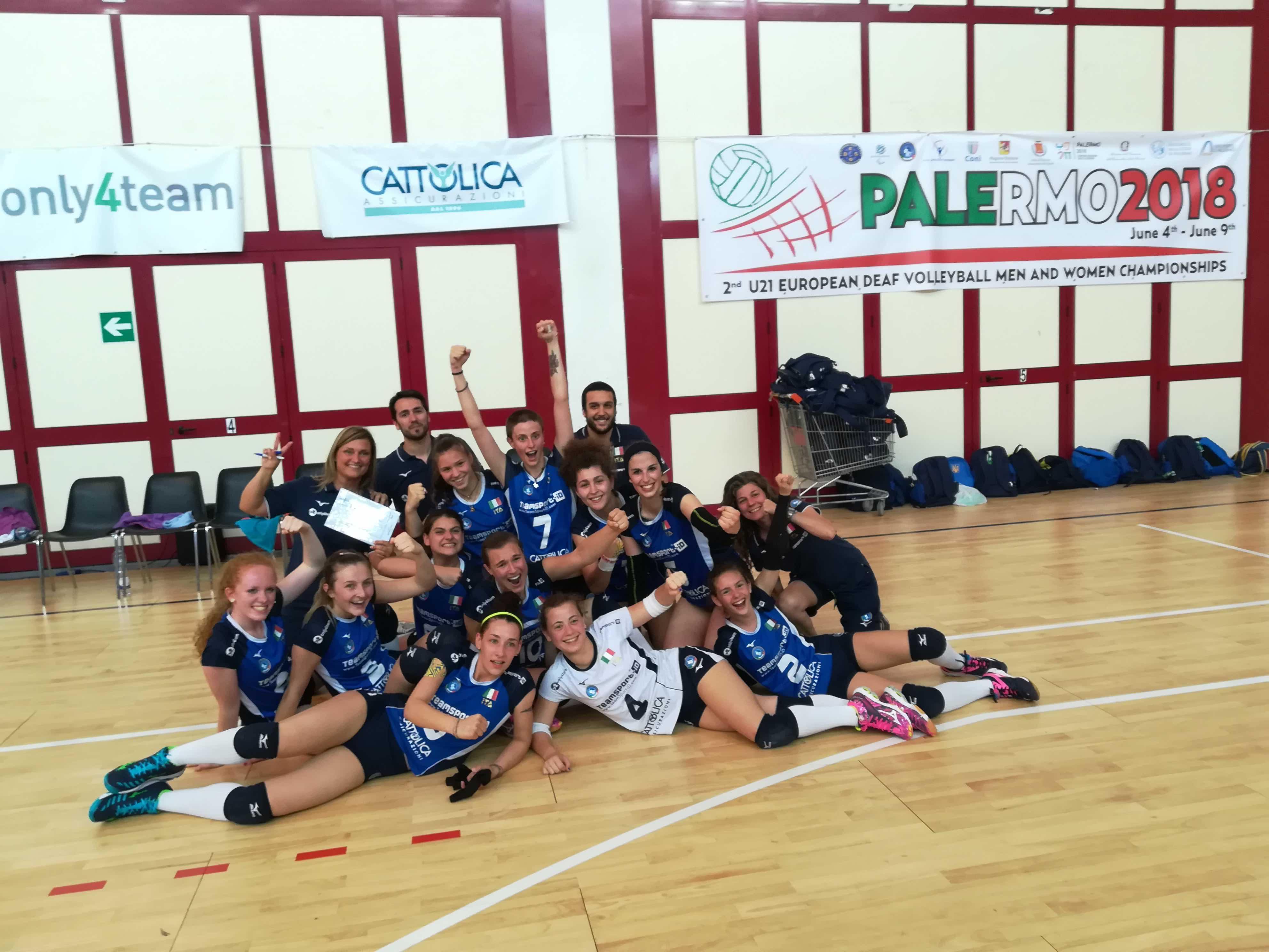 2nd EDV M/F a Palermo – La Nazionale di Pallavolo U21/F batte l'Ucraina 3-1
