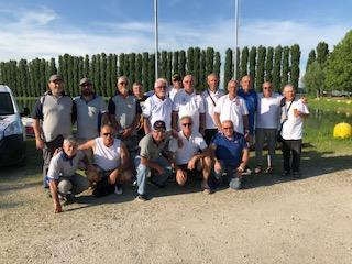 Torneo Gastronomico di Pesca Sportiva Feeder svoltosi il 2 Giugno 2018 presso il Lago Fipsas di Bezze (PR)