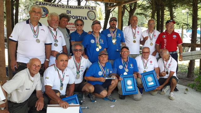Campionato FSSI di Pesca Sportiva svoltosi il 16-17 Giugno 2018 a Turrite Cava (LU)