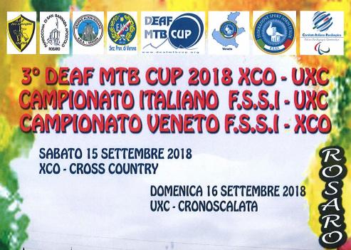 15-16 Settembre, Rosaro di Grezzana (VR). Campionato FSSI di MTB