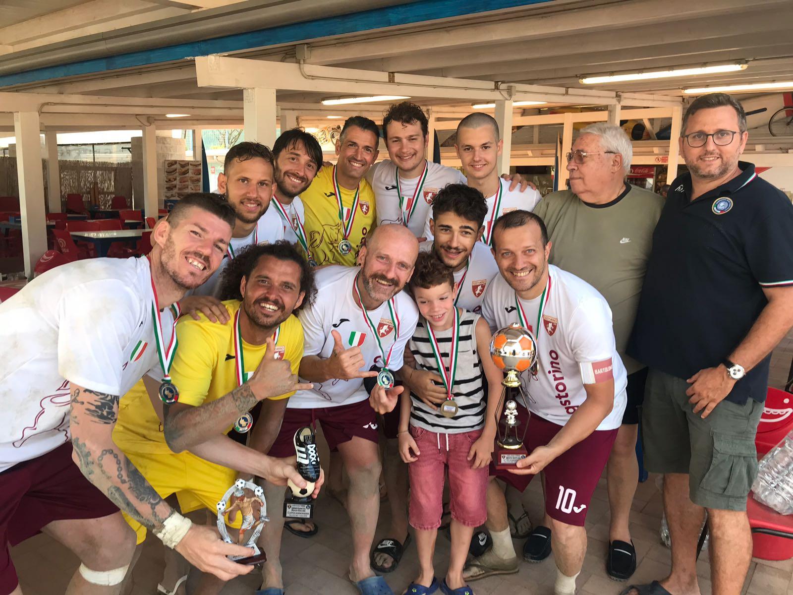 Risultati e foto del Campionato FSSI di Beach Soccer svoltosi il 7 Luglio