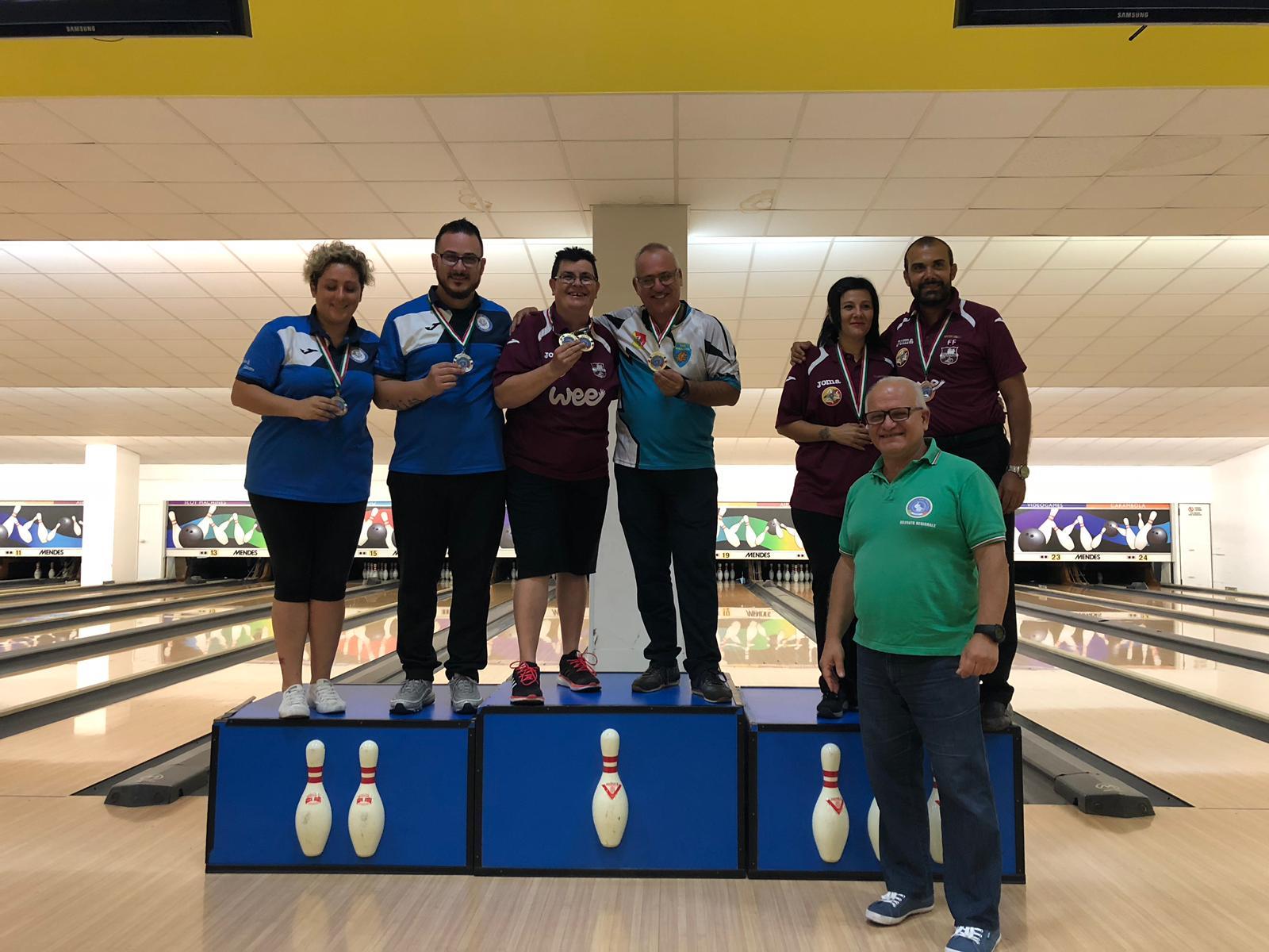 Risultati e foto del Campionato Regionale FSSI di Bowling M/F