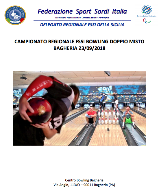 BOWLING – Doppio Misto e All Events  b72bf1aefa20f