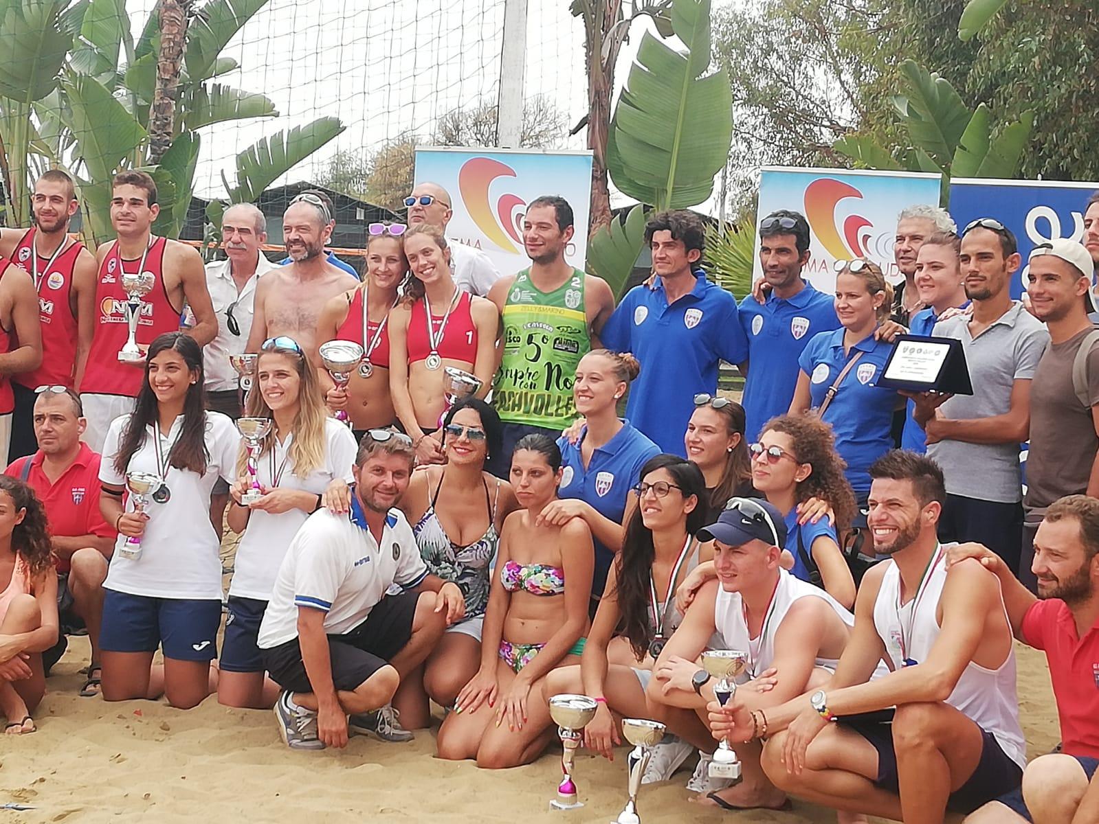 Risultati e foto del Campionato FSSI di Beach Volley M/F svoltosi nei giorni 8-9 Settembre