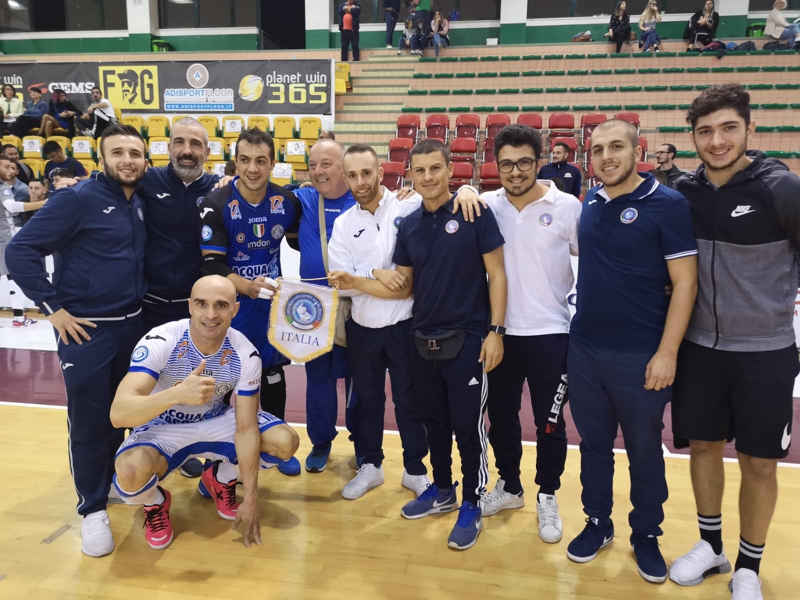 Relazione e foto del raduno collegiale della Nazionale di Calcio A5/M