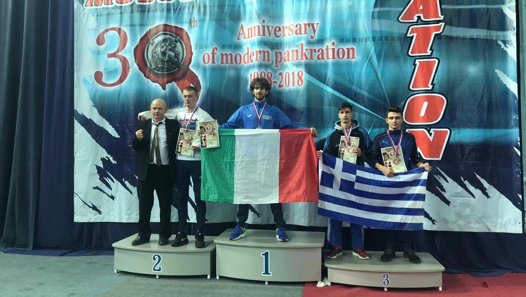 Davide Stabile atleta della Nazionale Italiana FSSI di Judo conquista il titolo di Pangration