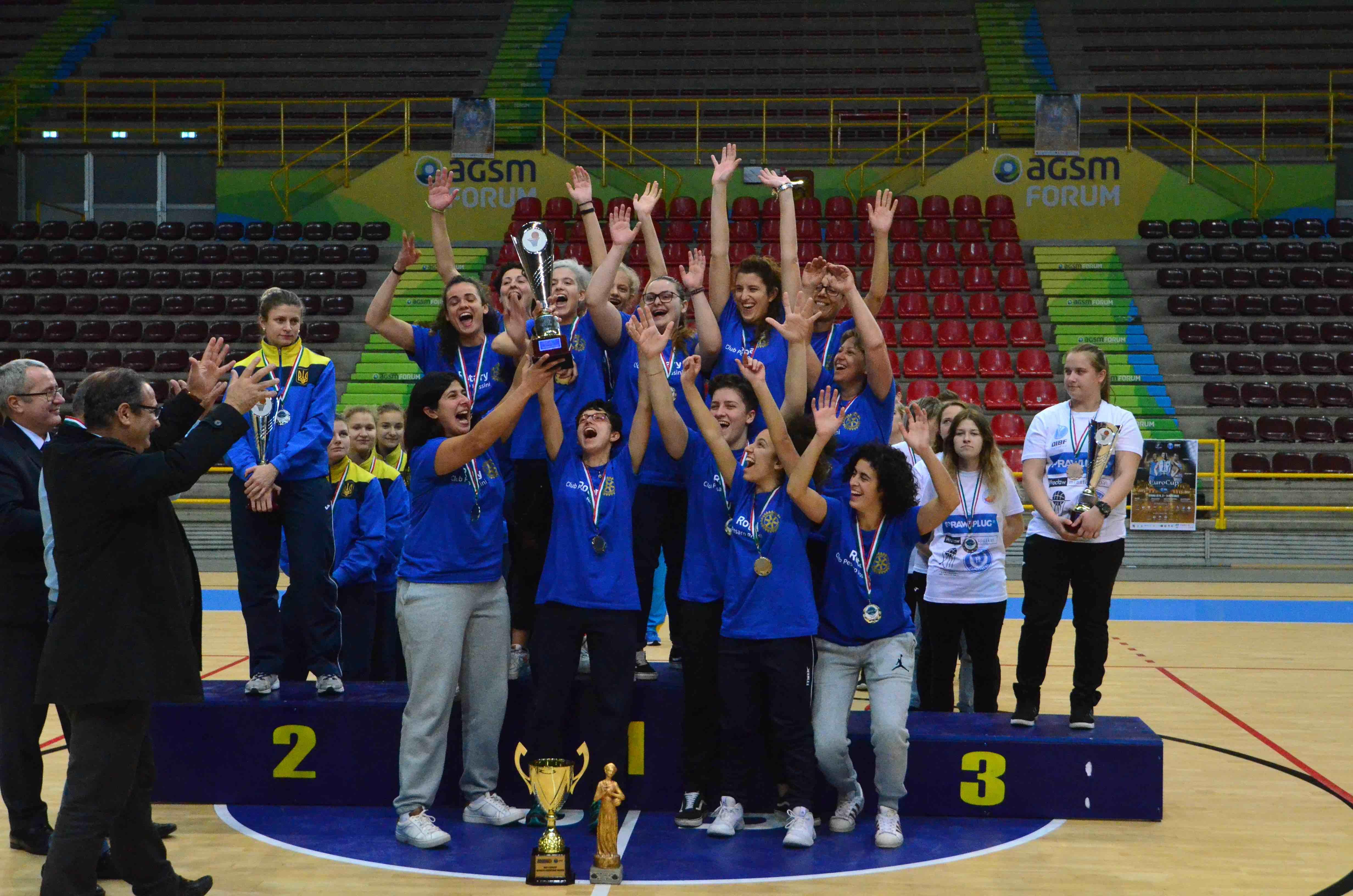 Si è conclusa la DIBF EuroCup 2018 di Verona. Un grandissimo evento di Basket