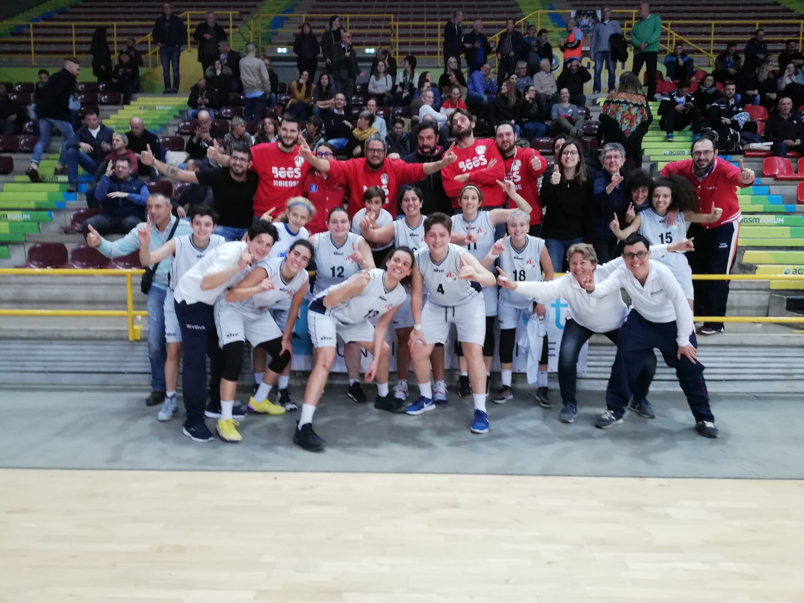 Ragazze d'oro: l'ASD Sordi Pesaro si laurea Campione d'Europa a Verona