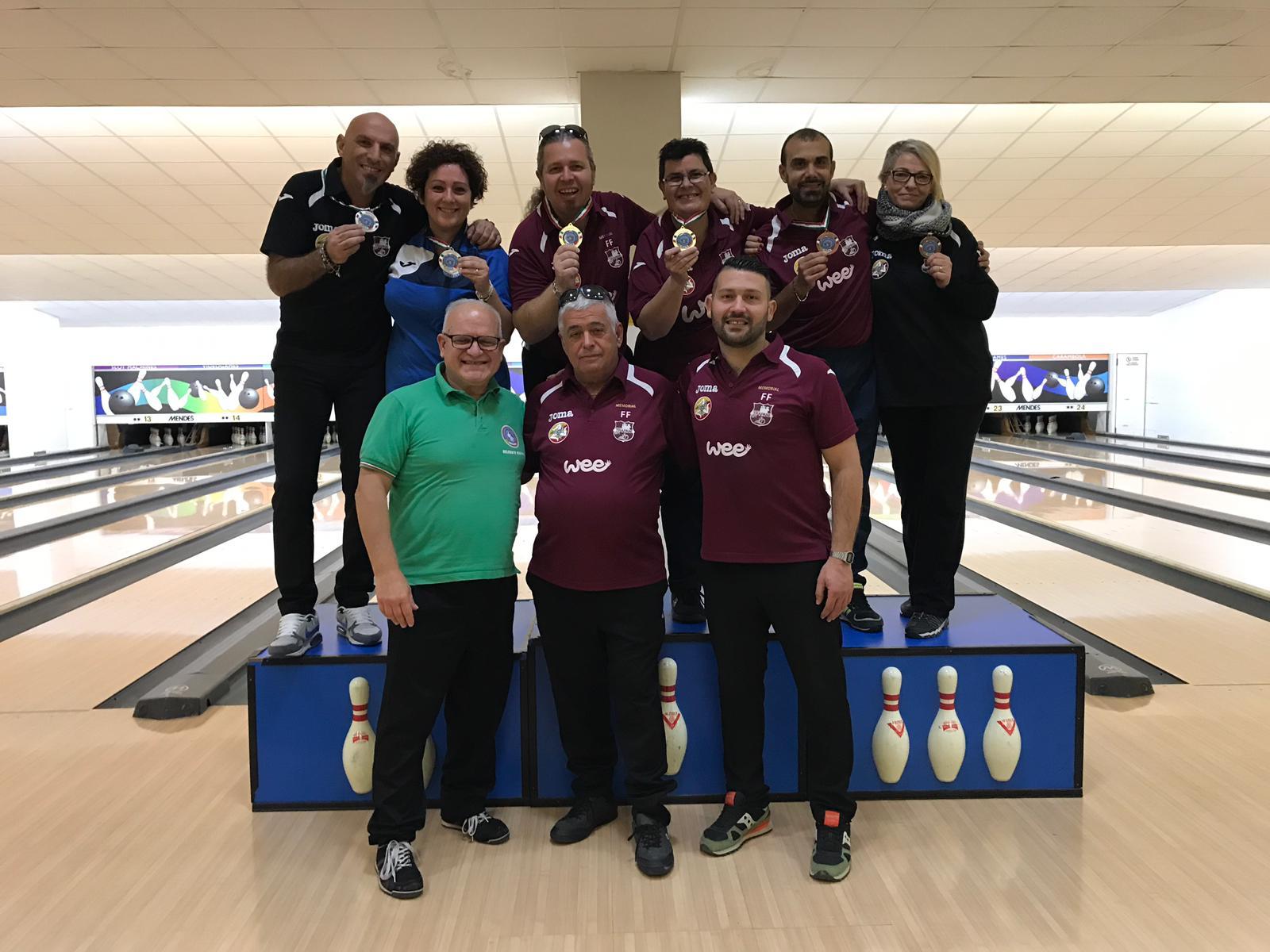 Risultati e foto del Campionato Regionale FSSI di Bowling svoltosi il 9 dicembre