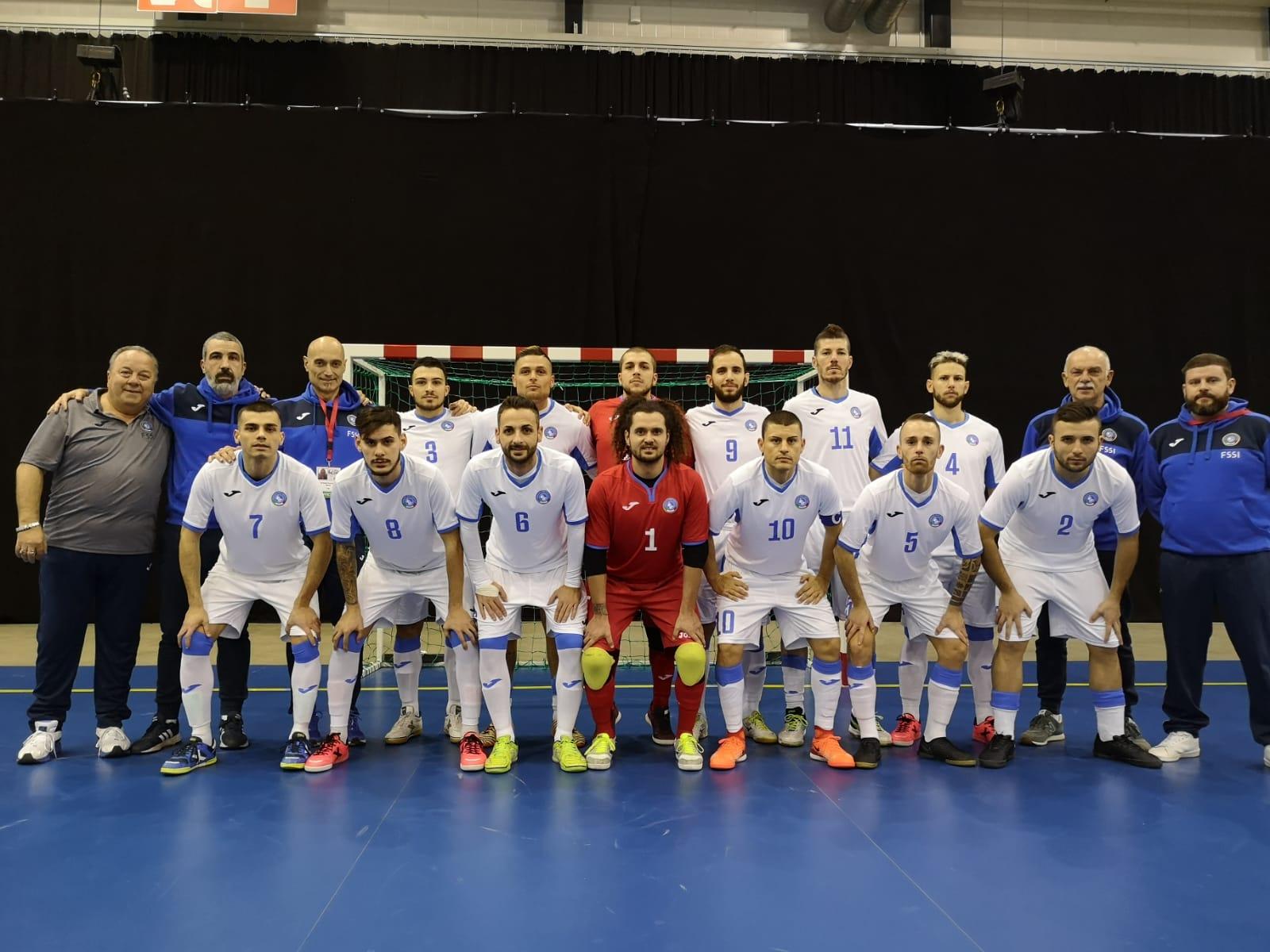 5° Campionato Europeo di Futsal a Tampere. Italia vs Bielorussia 9-4
