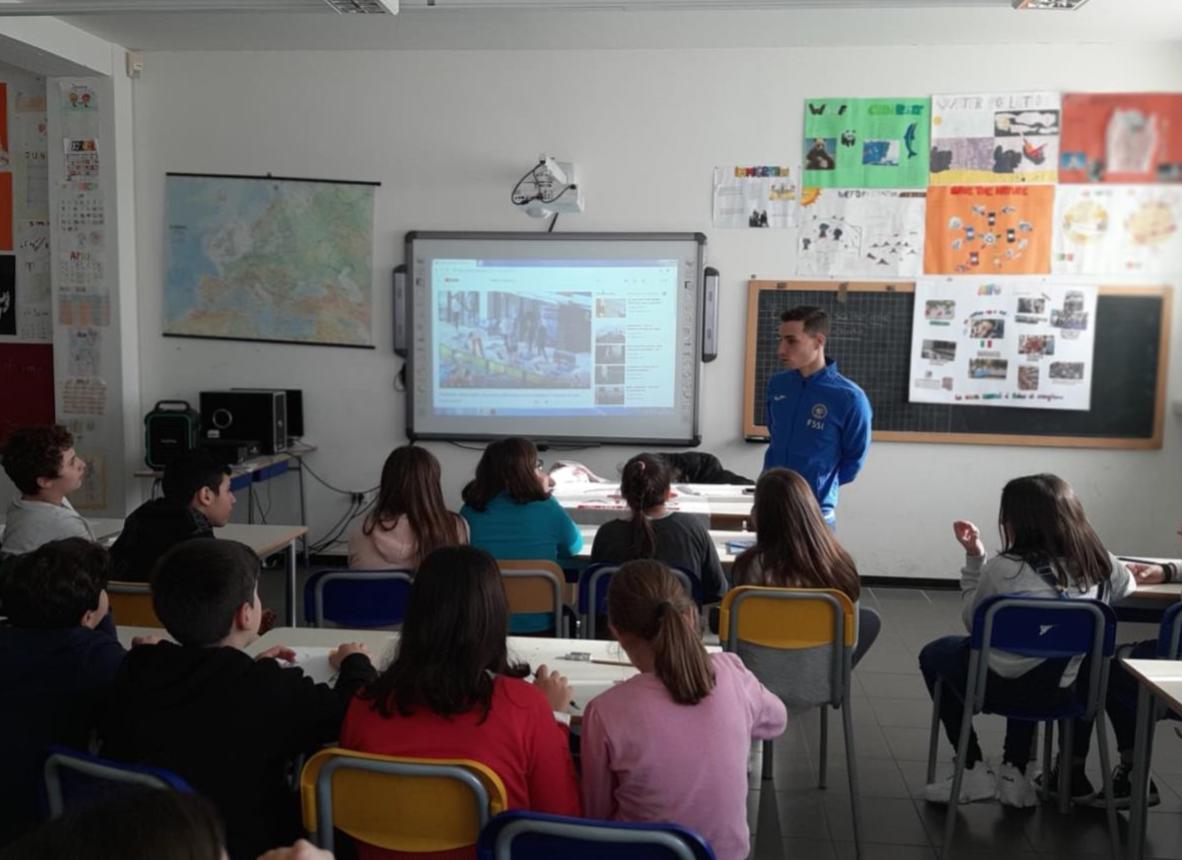 Progetto educativo Pace – Cooperazione – Inclusione dell'AIFO LAZIO ONLUS