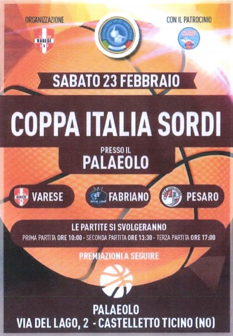 PALLACANESTRO - Coppa Italia M. 495b0a568b855